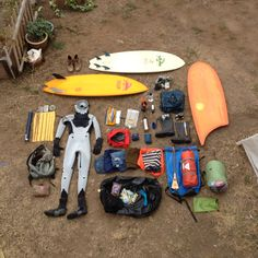 keith malloy russian surf expedition kit