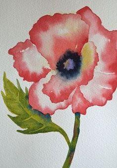 Simple Watercolor Painting Ideas20 #watercolorarts