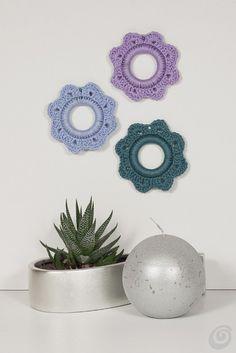 Addobbi all'uncinetto a forma di fiore – Casa e Trend