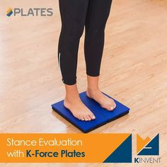 The K-FORCE app's protocols evaluate important balance and lower limb strength factors such as: left and right lower limb loading, balance proprioception, center of pressure control and behavior, max. strength and symmetry.  www.k-invent.com