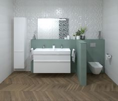 3D látványterv FAP Color Line és FAP Nest burkolattal #3dlátványterv #3dlátványtervezés #baustyl #lakberendezes #lakberendezesiotletek #stylehome #otthon #homedecor #inspiration #design #homeinspiration #interiordesign #interior #elevation #3dplan #bathroom #FAP #FAPColorNest 3d Visualization, Bathroom Ideas, Bathtub, Vanity, Home Decor, Standing Bath, Dressing Tables, Bathtubs, Powder Room
