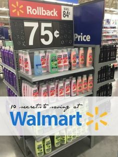 How to Save Money at Walmart - learn how and when they price their products, how to use coupons and more - via Passion for Savings