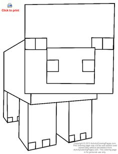 48 Best Minecraft Coloring Pictures Images Minecraft