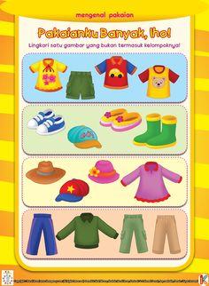 Mengenal Pakaian | Ebook Anak