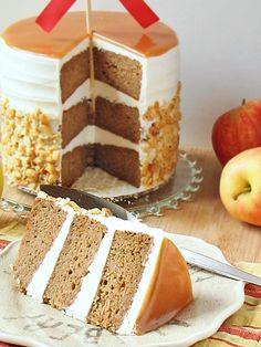 Caramel Apple Cinnamon Cake