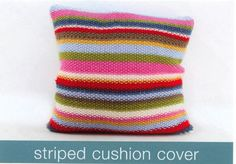 Rooster Stripey Cushion Cover Kit