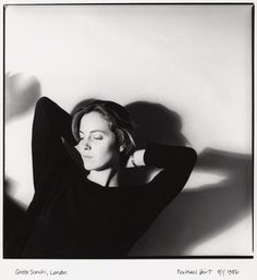 Greta Scacchi shot by Michael Birt 1986