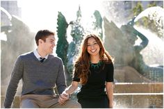 Sunny Philadelphia #engagement session | PA wedding photographer