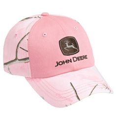 5dcbbfb17ea84 John Deere Pink Camo Cap - LP38223 John Deere Hats