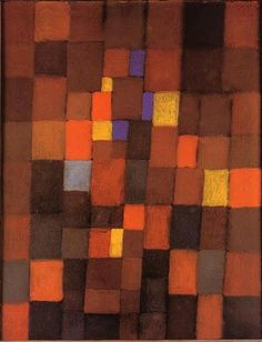 Pictorial Architecture (red, Yellow, Blue) 1923 | Paul Klee | Oil ...
