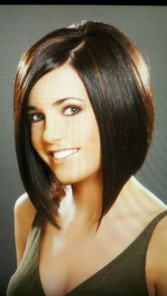 ... bobs and short 'dos on Pinterest | A Line Bobs, Long Bobs and Bob