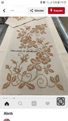 Diy Flowers, Needlepoint, Embroidery Designs, Elsa, Cross Stitch, Knitting, Floral, Cross Stitch Baby, Cross Stitch Flowers
