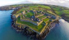 Wild Atlantic Way Aerial Shot - Charles Fort Ireland Cork Ireland, Ireland Travel, Star Fort, West Coast Of Ireland, Wild Atlantic Way, County Cork, Fortification, Photos, Pictures