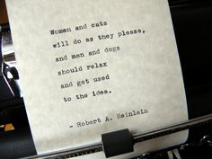 Robert A. Heinlein Quote Handtyped on Vintage by DaysLongPast, $10.00 Now available! https://www.etsy.com/listing/182099733/robert-a-heinlein-quote-hand-typed-on?utm_source=Pinterest&utm_medium=PageTools&utm_campaign=Share