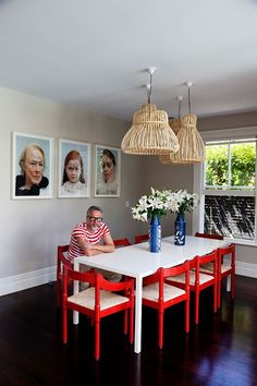 At home with Karen Walker and Mikhail Gherkin, via The Selby