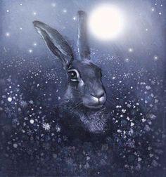 Winter Moon Hare