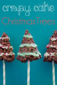 crispy trees - Christmas Food