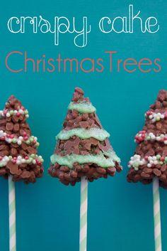 crispy trees - Christmas Food
