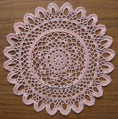 Feathered Petals By: chillesdoilies. Thanks for the beautiful free pattern!