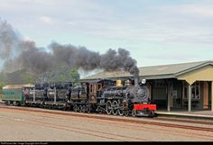 Net Photo: Ab 663 Mainline Steam Heritage Trust Steam at Levin, New Zealand by John Russell Steam Locomotive, Drawing Ideas, New Zealand, Trust, Abs, Ideas For Drawing, 6 Pack Abs, Six Pack Abs, Ab Workouts