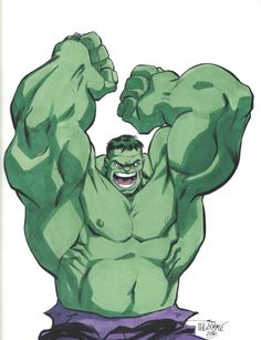#Hulk #Fan #Art. (Hulk) By: Scott Dalrymple. (THE * 3 * STÅR * ÅWARD OF: AW YEAH, IT'S MAJOR ÅWESOMENESS!!!™)[THANK Ü 4 PINNING!!!<·><]<©>ÅÅÅ+(OB4E)