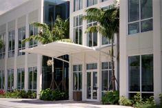 Entrance Canopy at Florida Atlantic Univerisity.