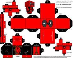 Deadpool Cubeecraft by spidey42410.deviantart.com on @DeviantArt
