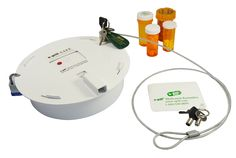Pill Dispenser : Prevent / Avoid / Discourage Pain and Psych Pill Addiction with the e-pill SAFE. This tamperproof dispenser also helps prevent overdoses with it's triple lock system. #Addiction #PainPills  #Treatment #epill #MedicationAdherence  #MedicationReminder Medication #Adherence http://www.epill.com/epillsafe.html
