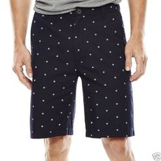 Polo Assn Mens U.S Belted Flat-Front Shorts MSRP $48.00 Size 42W New