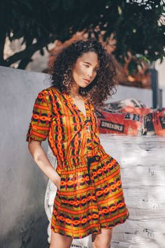 One thing is clear: you need to invest in on of our colorful jumpsuit to cover you through the South African summer à la @shannonashleyk.  wewe Cape Town | Ethical Label | AFRICAN FASHION WITH AFRICAN PRINTS | Based in Cape Town.  #southafrica #africanstyle #africaninspired #madeinafrica #handmade #ethicalfashion #africandesigners #ankara #waxprint #africanfabric #ankarafashion #slowfashion #africanprint #ankarafabric #streetstyle #capetown