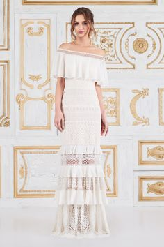 117e1d541875 Alexia Off-The-Shoulder Gown. Tadashi ShojiBridal ...