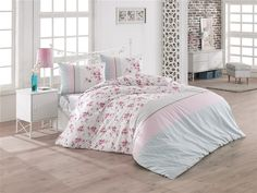 Stylish and contemporary duvet covers available from Dunelm. Our bed linen range includes a variety of colours and patterns, all made with high quality material and in every size, from single to king size duvet covers. Contemporary Duvet Covers, Nursery Bedding Sets Girl, Nursery Room, King Size Duvet Covers, Floral Pillows, Large Bedroom, Bedroom Red, Girls Bedroom, Kid Bedrooms