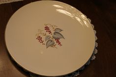 Vintage by Knowles 10 1/4 inch dinner plate (1 available) Southern Vintage Classic China Collection Rentals