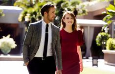 """Emma Stone and Ryan Gosling first worked together auditioning for the 2011 romantic-comedy """"Crazy, Stupid, Love."""" Asked to improvise a scene, Gosling remembers, """"We just couldn't shut up. It was just lots to talk about and very easy."""""""