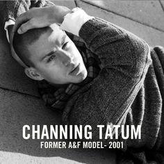 Channing Tatum | Former Abercrombie Model | 2001