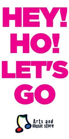 artsandmusicstore.com Hey! Ho! Let's Go.- Ramones - Arts And Music Store
