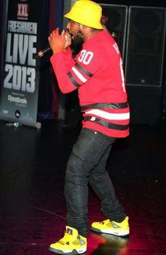 Schoolboy Q wearing #AirJordan 4 Retro « Lightning » New Hip Hop Beats Uploaded EVERY SINGLE DAY http://www.kidDyno.com