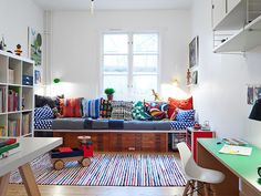 Colorful kids room #splendidspaces