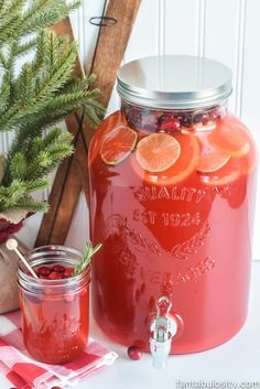 The BEST Punch Recipe - Easy Fruit Punch with Sprite - NO Ice Cream! - The BEST Punch Recipe for Any Party: made with Sprite (or lemon-lime soda), pineapple juice, kool-a - Holiday Drinks, Summer Drinks, Fun Drinks, Healthy Drinks, Beverages, Mixed Drinks, Layered Drinks, Best Party Drinks, Refreshing Drinks
