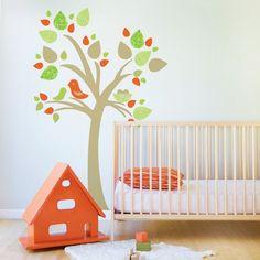 Arvores na decoração do Quarto do seu filho 2 - Dicas pra Mamãe