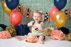 Baby First Birthday Pictures Color Schemes 69 Ideas For 2019 - 생일 테이블 - first birthday cake-Erster Geburtstagskuchen Baby First Birthday Cake, First Birthday Pictures, Birthday Table, Birthday Cake Girls, Birthday Ideas, Colorful Birthday Party, Birthday Parties, Birthday Wishes, Picture Color Schemes