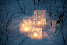 Globe Ice Lanterns, DIY Ice Lantern Books & Kits | Wintercraft Ice Crafts, Crafts For Kids, Sugar Plums Dancing, How To Make Lanterns, Winter Project, Christmas Centerpieces, Country Christmas, Winter Scenes, Globe