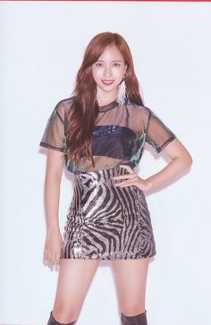"""""""[scan] yes or yes version b"""" Kpop Girl Groups, Korean Girl Groups, Kpop Girls, Stage Outfits, Dance Outfits, Nayeon, Myoui Mina, South Korean Girls, Pretty People"""