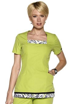 Bring a spark of creativity to your nursing uniform with print and graphic scrub tops for women. Order fun scrubs at Scrubs & Beyond today! Cute Nursing Scrubs, Cute Scrubs, Nursing Clothes, Sewing Clothes, Healthcare Uniforms, Medical Uniforms, Beauty Uniforms, Scrubs Uniform, Medical Scrubs