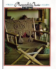 Juliano's Hang It All Macrame Book 1 by grammysyarngarden on Etsy, $8.00