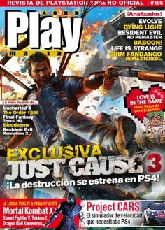 Playmania - Issue 196 2015    Spanish | HQ PDF | 84 pages | 48 MB