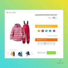 Customize Product UI design
