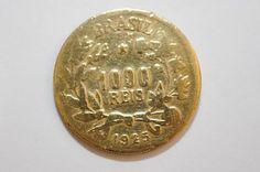 Moeda Antiga, 1.000 Réis, 1925- reverso (cara )