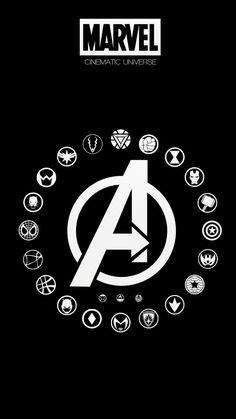 New wall paper marvel herois Ideas Marvel Tattoos, Marvel Memes, Marvel Dc Comics, Marvel Logo, Marvel Universe, All Avengers, Avengers Symbols, Mundo Marvel, Avengers Wallpaper