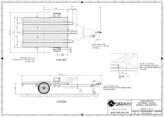 Professionally designed and engineered motorbike trailer plans for building you own motorbike trailer to carry 3x large bikes and 2x jerry cans with plenty of room for additional add-ons including toolboxes or tyre racks. $36 at www.fabplans.com